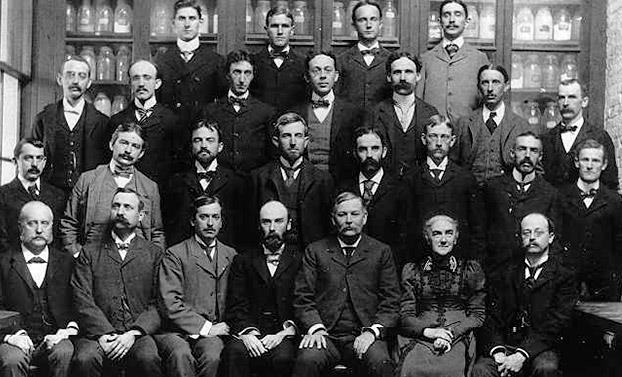 MIT Chemistry Staff in the late 1880s