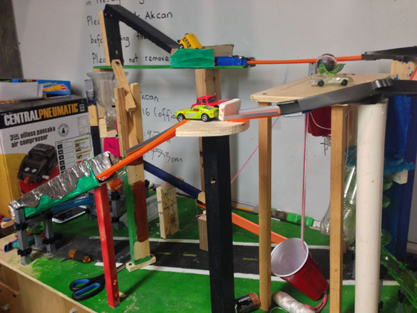 The Rube Goldberg Machine