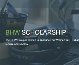 BHW Women in STEM Academic Scholarship