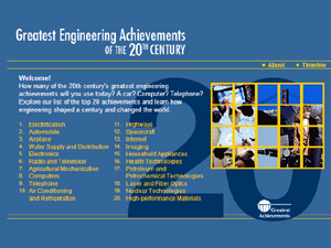 Greatest Engineering Achievements in the 20th Century