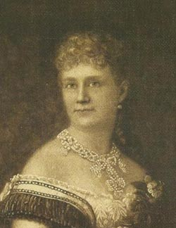 A painting of Mary Coston